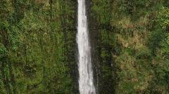 Akaka Falls Close Up Stock Footage