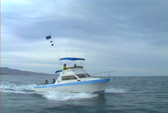 Baja boating 02 Stock Footage