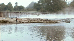 Fly Fisherman 233 - stock footage