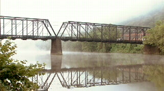Truss Bridge 241 Stock Footage