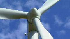 Wind turbine  - stock footage