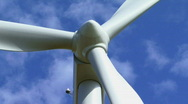 Stock Video Footage of Wind turbine