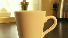 Breakfast tea4 1080p Stock Footage