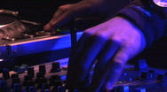 DJ hands Stock Footage