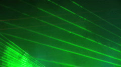 Laser lights Stock Footage