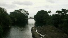 Coastal Bridge Stock Footage