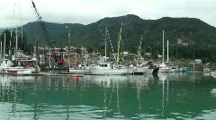 Harbour ,Haines Alaska Stock Footage