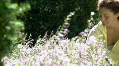 Gardening 264 Stock Footage