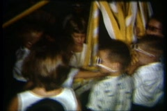 8mm maypole party 2 Stock Footage