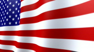 Stock Video Footage of American Flag HD Loop - nice texture