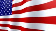 Stock Video Footage of American Flag HD Loop - nice texture