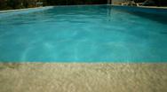 Swimming Pool Stock Footage