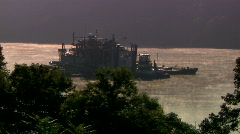 River Dredger 281 - stock footage