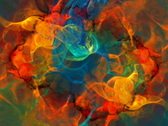 Colorful swirl 2 Stock Footage