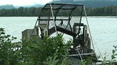 Fish trap ,Alaska Stock Footage