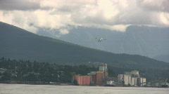 Float Plane Landing Stock Footage