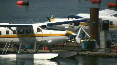 Float Plane Leaving Stock Footage