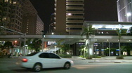 Stock Video Footage of Miami Metrorail 2 - Time Lapse
