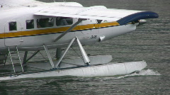Turbo Prop Seaplane Stock Footage