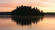 Morning island. Stock Footage