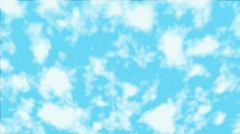 Clouds - stock footage