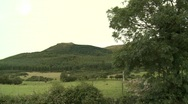 Stock Video Footage of Forest and fields on Mountain, Mourne, Co Down