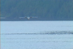 BC flying boat 01 Stock Footage