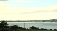 Stock Video Footage of Cooley Peninsula as seen from Rostrevor