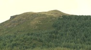 Stock Video Footage of Zoom out from mountain, Mourne, Co Down