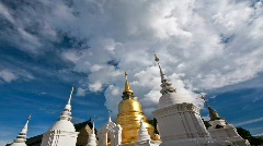 Wat suan dok temple - stock footage
