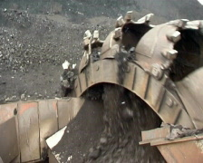 Coal 1 P - stock footage