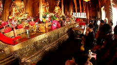 Golden Summit Temple, Mt. Emei, China Stock Footage