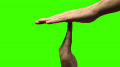 Time out green screen V2 - HD Stock Footage