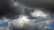 Stock Video Footage of Storm clouds  timelapse