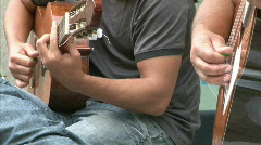 Guitarists Stock Footage