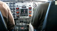 Airplane Cockpit Wide Shot (HD) m Stock Footage