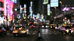 Tokyo Shinjuku Night View - stock footage
