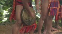 Banaue Ifugao ceremonial rites 17 Stock Footage