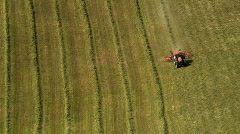 Crop Farming in Marche Italy  Stock Footage