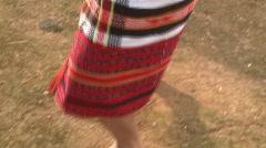 Banaue Ifugao ceremonial rites 15 Stock Footage