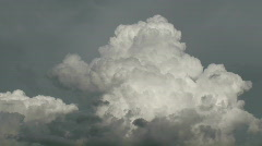Monsoon Clouds Black and White - stock footage