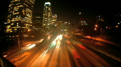Urban_night_009 Stock Footage