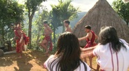Stock Video Footage of Banaue Ifugao ceremonial rites 11c