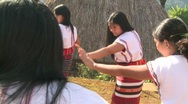 Stock Video Footage of Banaue Ifugao ceremonial rites 11b