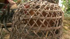 Banaue Ifugao ceremonial rites 5 Stock Footage