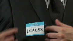 Hello my name is LEADER - HD  Stock Footage