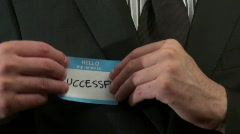 Hello my name is SUCCESSFUL- HD  Stock Footage