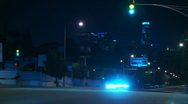 Los Angeles Traffic Time-lapse Stock Footage