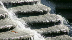 waterfall cascade close up - stock footage