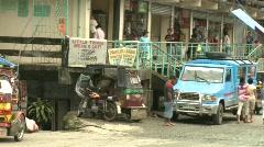 Banaue Tanduay village 5 Stock Footage